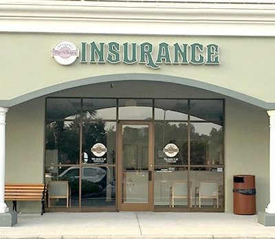 Front entrance to the Villages Insurance Mulberry Grove office
