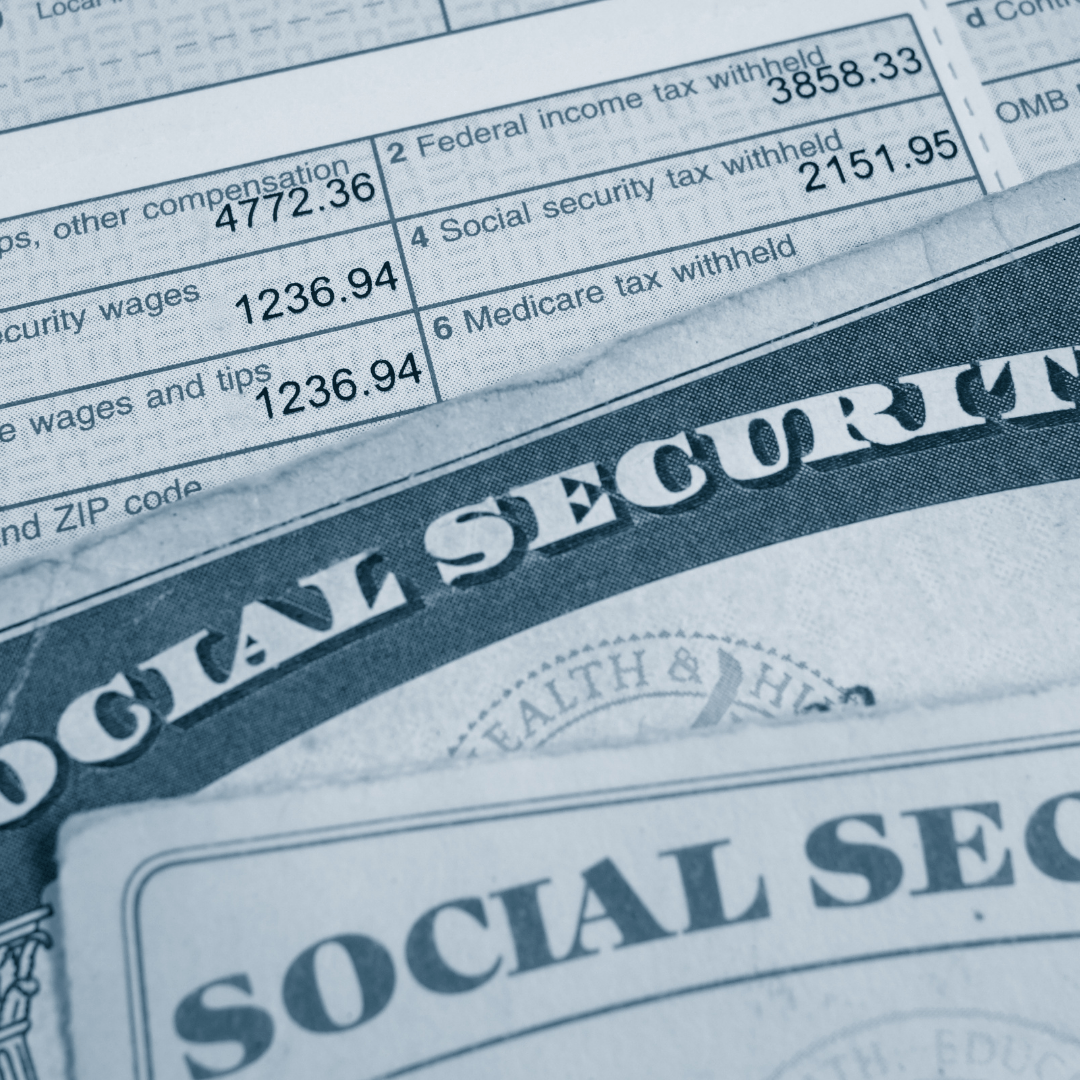 Generic picture of Social Security cards